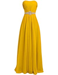 Amazoncom Yellows Formal Dresses Clothing Shoes Jewelry