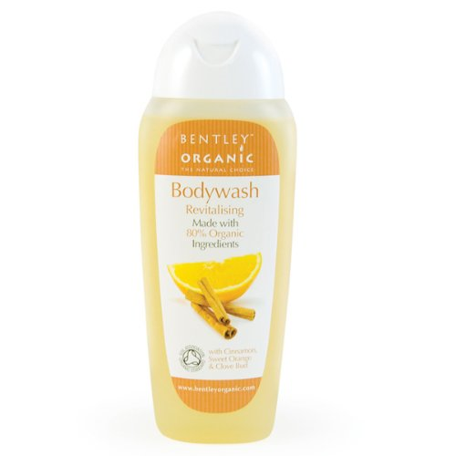 Bentley Organic Revitalizing Bodywash, Cinnamon Sweet Orange and Clove Bud Oils, 8.4 Fluid Ounce (Wash Revitalising)