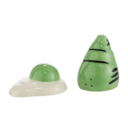 (Department 56 Dr. Seuss Green Eggs and Ham Salt and Pepper Shakers, 1.18 inch)