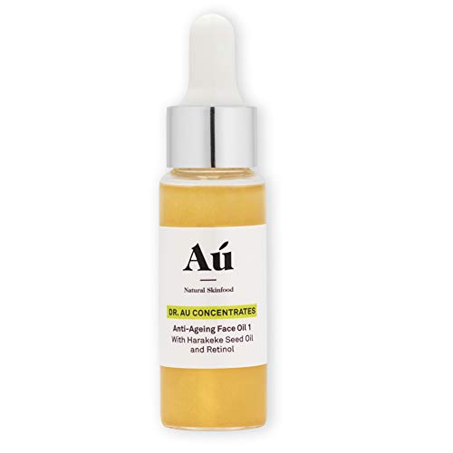 Dr. Au Anti-Aging Face Oil Serum by Au Natural Skinfood - Promotes Youthful, Glowing Skin | Collagen Boosting Wrinkle Repair | No Oily Residue - Just Soft to the Touch Skin | Daily Moisturizer