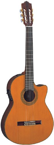 Yamaha CGX171CCA - Acoustic/Electric Cutaway Nylon String Classical Guitar