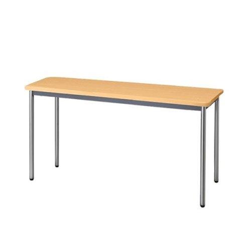 生興 テーブル MTS型会議用テーブル W1500×D450×H700 4本脚タイプ 棚なし MTS-1545OS ペールアルダー B015XOK6LUペールアルダー