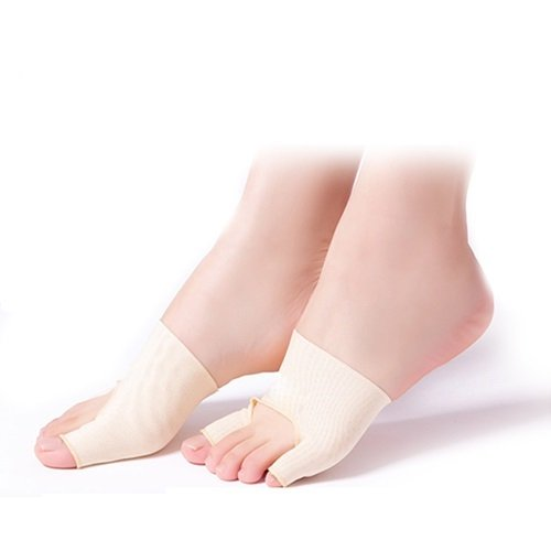 Separator Footsmart Gel Toe (1 Pair Big Little Toe Separator Hallux Valgus Varus Straighteners Bunion Corrector Sock Feet Care Tool)