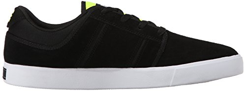 Dc Mens Rd Grand Sneaker À Lacets Noir / Fluorescent Jaune