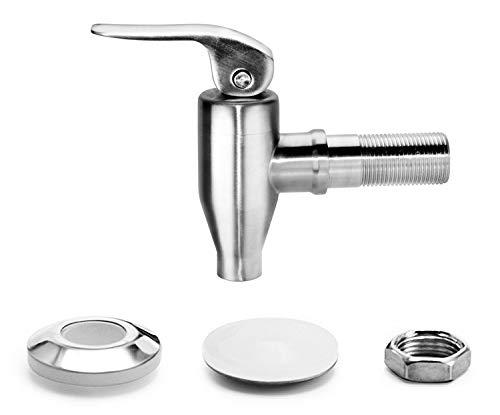 ersatzzapfhahn Mary/´s Kitchen Tools Edelstahlzapfhahn f/ür Getr/änkespender Drehzapfhahn 16mm Bierhahn | Zapfhahn