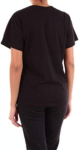 ACT N°1 Luxury Fashion Donna RTS1901NERO Nero Cotone T-Shirt | Stagione Outlet