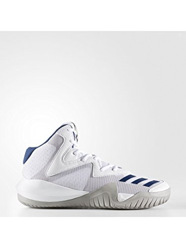 Adidas Crazy Team 2017, Chaussures de Basketball Homme, Blanc Cassé (Ftwbla/Grpumg/Azumis), 49 EU