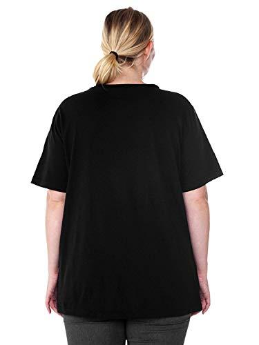 66e6374cd5f3b Disney Plus Size Women s T-Shirt Mickey Mouse Halloween Skeleton - Choose  Print