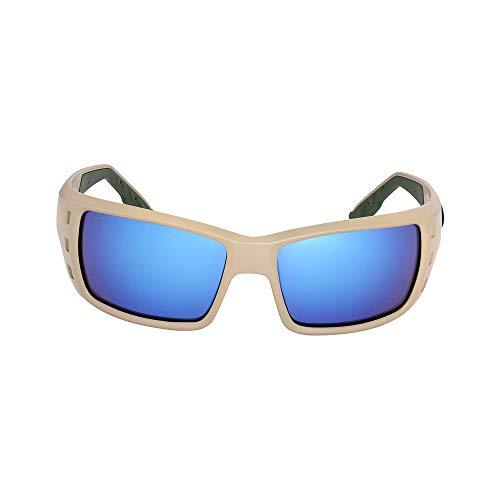 Costa Permit Nylon Frame Blue Mirror Glass Lens Men's Sunglasses PT248OBMGLP ()