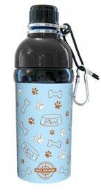 Good Life Gear Stainless Steel Pet Water Bottle, 16-Ounce, Blue Friends Design by Good Life Gear