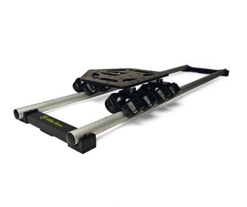Glide Gear DEV 4 Camera Dolly System 4Ft Rails, Sled w/ T...