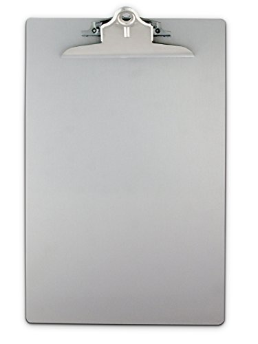 Saunders 22519 Recycled Aluminum Clipboard with High Capacity Clip - Legal Size (Legal Clipboard)