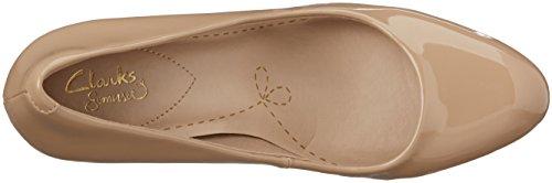Clarks Carlita Cove, Women's Closed-Toe Pumps Beige (Sand Patent)