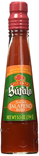 Bufalo Jalapeno Very Hot Mexican Hot Sauce, 5.3 Ounce