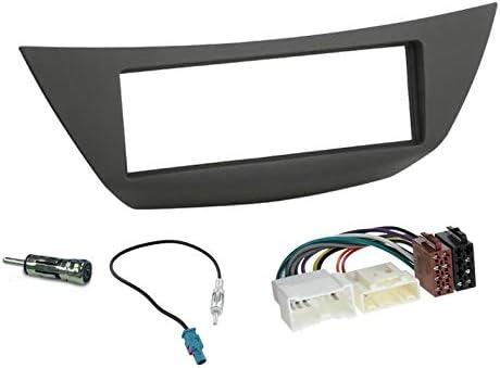 1 DIN car stereo fascia frame kit Renault Laguna 2007-2015 Sound-way