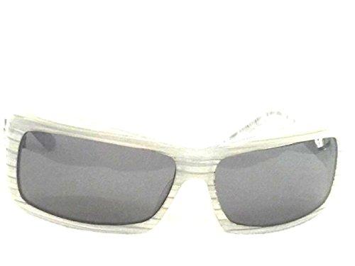 Divine Crush White Horned - Smoke - Divine Sunglasses