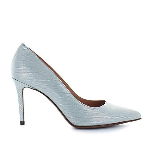 Cuero Mujer Zapatos Azul Ldg00185cp25303038 Chose L'autre Claro z4FAww