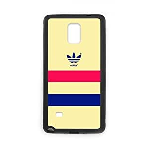 The logo of Adidas for SamSung Galaxy Note4 Black Case Hardcore-8