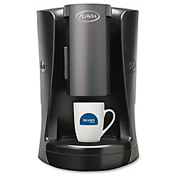 MARS DRINKS(TM) FLAVIA(R) Creation 150 Brewer, 14 7/16in.H x 9 1/8in.W x 13 1/2in.D, Black/Titanium