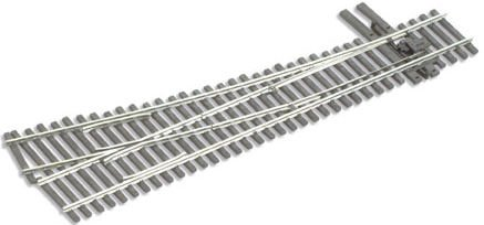 Peco HO Scale Code 83 Electrofrog #5 Right-Hand Turnout