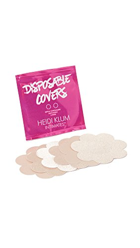 Heidi Klum Womens Disposable Covers  Nude  One Size