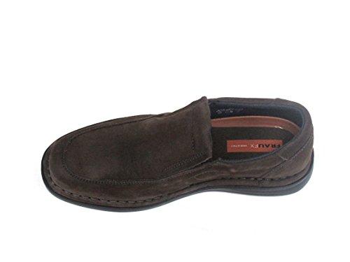 FRAU , Chaussures de ville à lacets pour homme Marron T.moro
