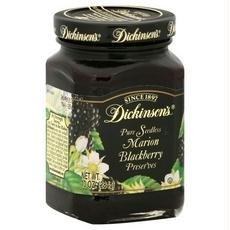 Dickinson's Pure Seedless Marion Blackberry Preserves --  One 10 oz Jar ()