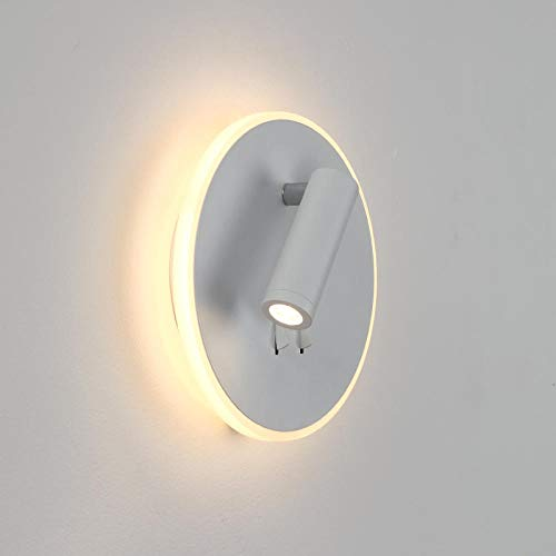 GYBYB ra moderna decorativa giratoria proyectores de pared lámpara ...