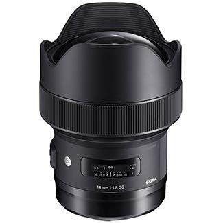 Price comparison product image Sigma 14mm f / 1.8 ART DG HSM Lens (for Nikon Cameras)