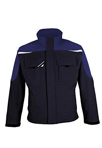 BESTWORK Softshell Jacke marineblau/kornblau Gr. M M,marine/korn