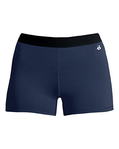 Navy Ladies XS Pro-Compression Shorts -