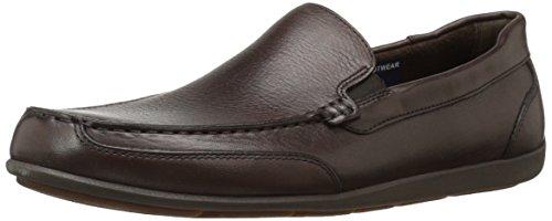 Rockport Men's Bennett Lane 4 Venetian Shoe, brown leather, 15 M US