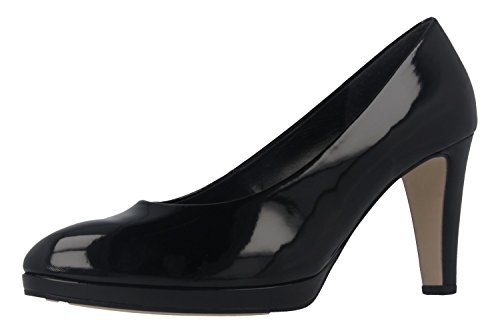 Gabor Women's Splendid Court Shoes 77 Black Patent wV0Qm8