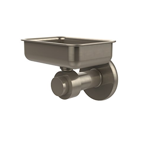 Allied Brass 932-PEW Mercury Collection Wall Mounted Soap Dish Antique ()