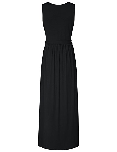 Lotusmile-Long-Dresses-for-Women-with-Pockets-Elegant-Maxi-Dress-Sleeveless-V-Neck