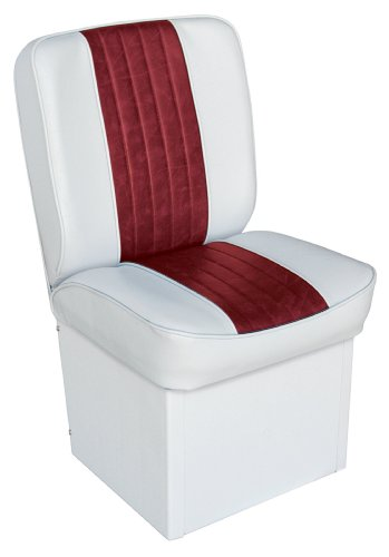 Wise 8WD1414P-925 Deluxe Universal Jump Seat (White/Red)