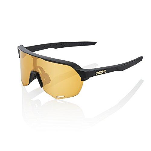 100% S2 Sunglasses-Matte Black-Soft -