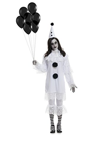 Charades Women's Heartbroken Clown Costume, As Shown, Large
