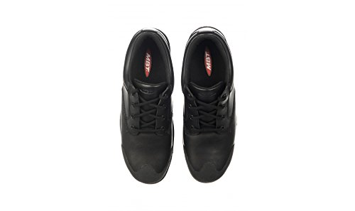 the cheapest sale online MBT Unisex Omega Safety Work Shoe Black Leather Black Leather release dates cheap price cheap extremely perfect cheap online bEHKHw