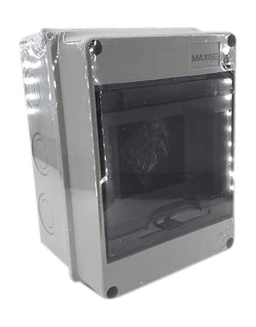 Caja distribucion electrica Superficie IP65 de 5 modulos Blanco ...