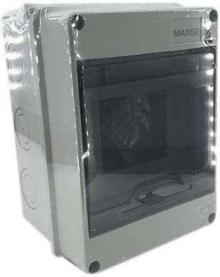 Caja distribucion electrica Superficie IP65 de 5 modulos Blanco, Cablepelado®