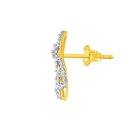 Giantti Diamant Pendentif Femme Collier (0.226CT, qualité HSI, Gh-colour)