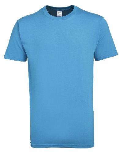 Premium Cotton T-Shirt Sapphire S