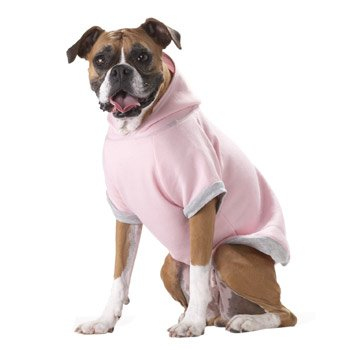 Boneheads Classic Pink Hoodie for Big Dogs, My Pet Supplies