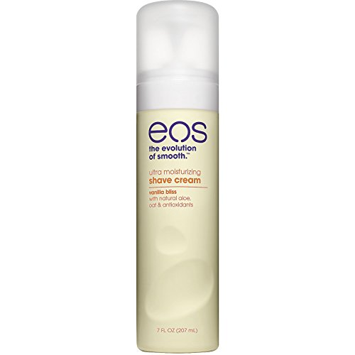 eos Ultra Moisturizing Shave Cream - Vanilla Bliss | Provides 24-Hours of Skin-Softening Moisture | Shave Wet or Dry |7 Fl oz from eos
