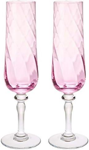 IKEA 503.429.87 Konungslig Copa de champán, color rosa