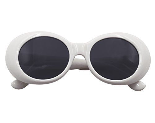 soleil de White Lunettes Style Oval Retro MEIHAOWEI wqXvUx