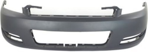(Crash Parts Plus Primed Front Bumper Cover Replacement for 2006-2015 Chevrolet Impala)