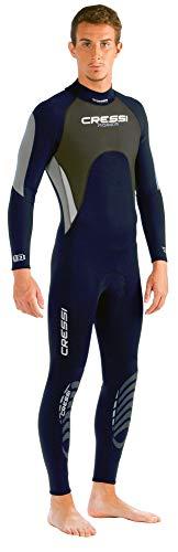 Cressi Morea Man Wetsuit Full 3mm - Einteiliger Neoprenanzug Herren für alle Wassersportarten