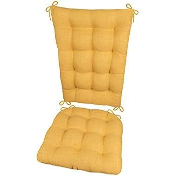 Amazon Com Porch Rocker Cushions Rave Yellow Gold